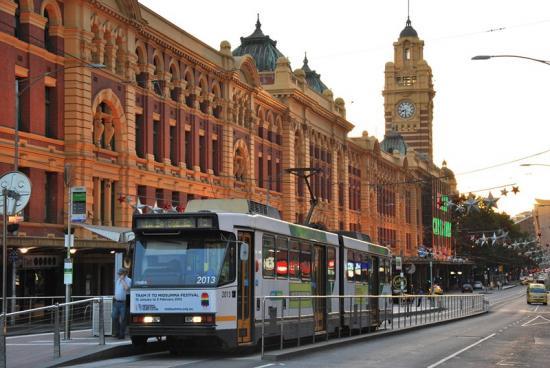 Melbourne - Railway Station