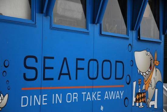 Tasmanie - Fish'n chips à Hobart